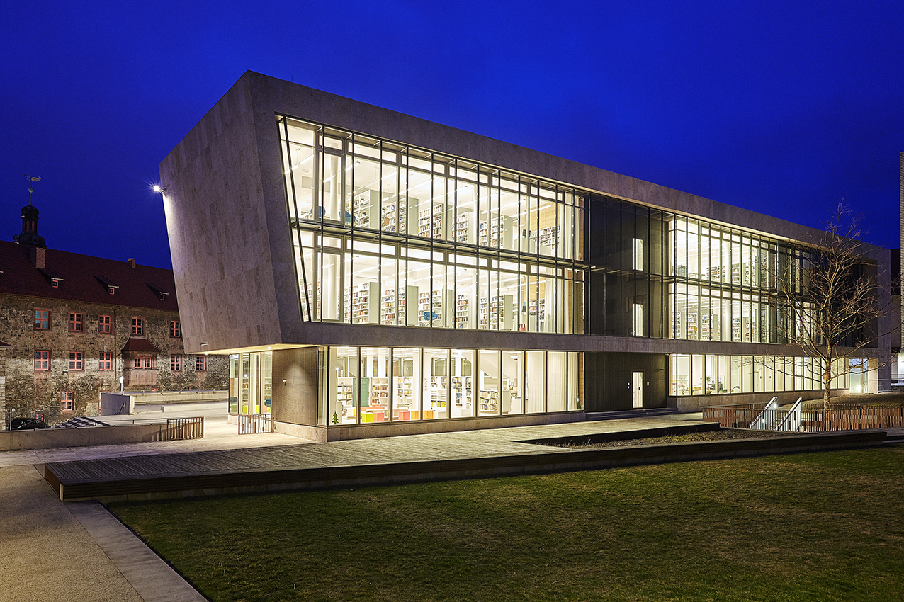 Nordhausen Germany  city pictures gallery : Stadtbibliothek Nordhausen, Germany Lichtvision Design