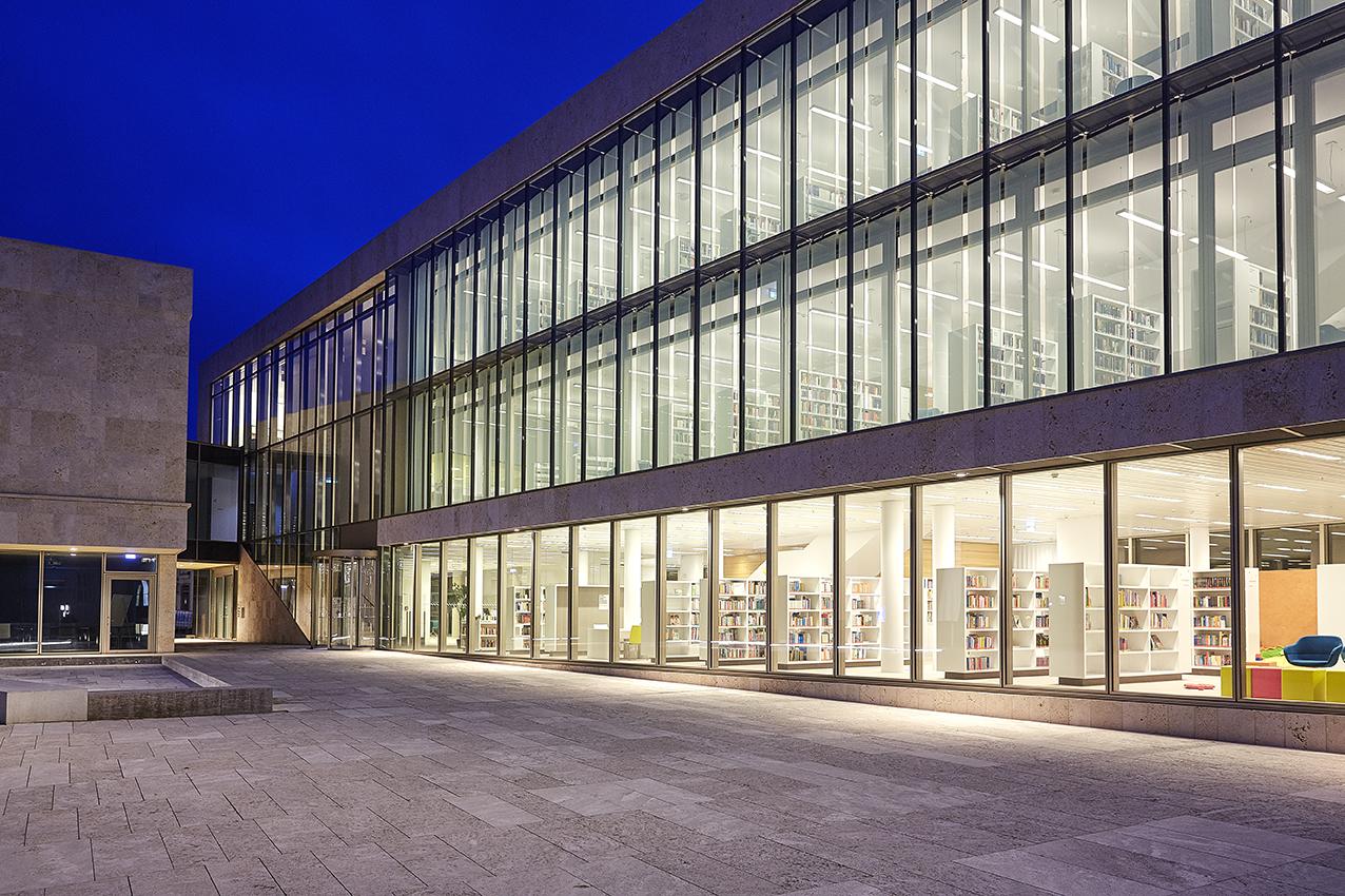 Nordhausen Germany  City new picture : Stadtbibliothek Nordhausen, Germany Lichtvision Design