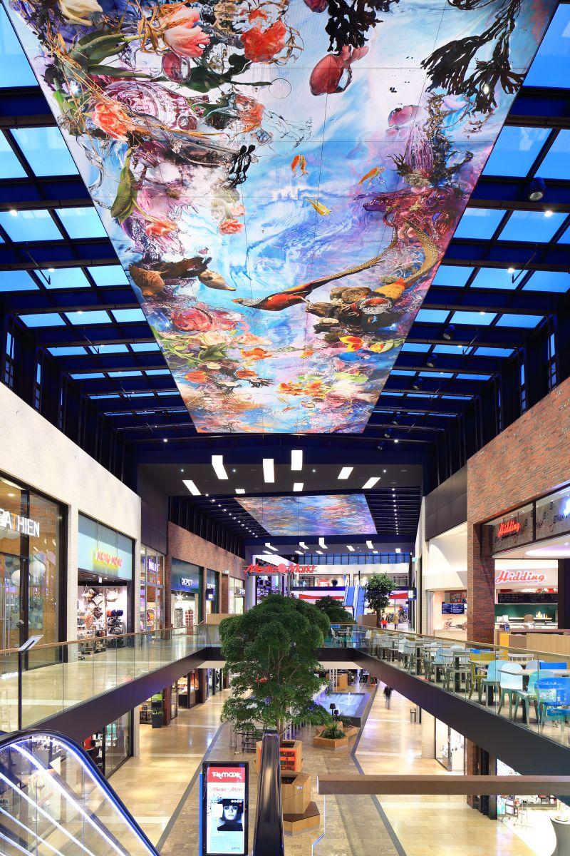 Ems Galerie Rheine <br />Rheine, Germany - Lichtvision Design